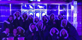 Ice Bar during Welcome Camp - Cambiamenti