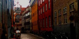 Tipico quartiere di Copenhagen