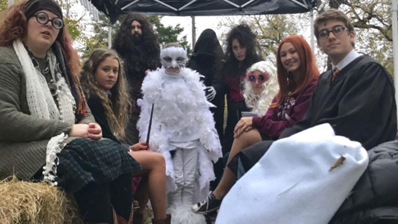 Halloween a tema Harry Potter